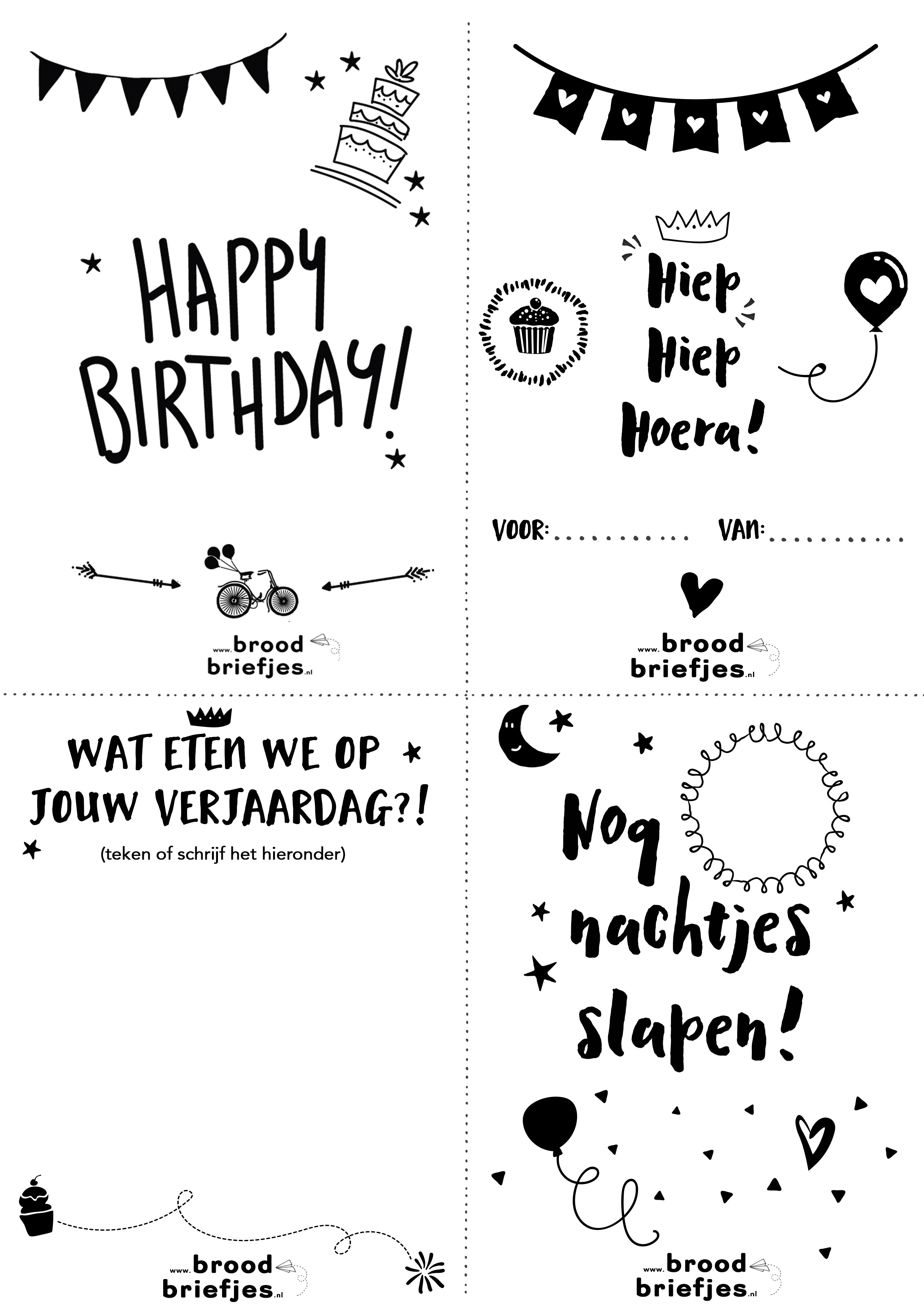 Verjaardag Brief | Inspectionconference