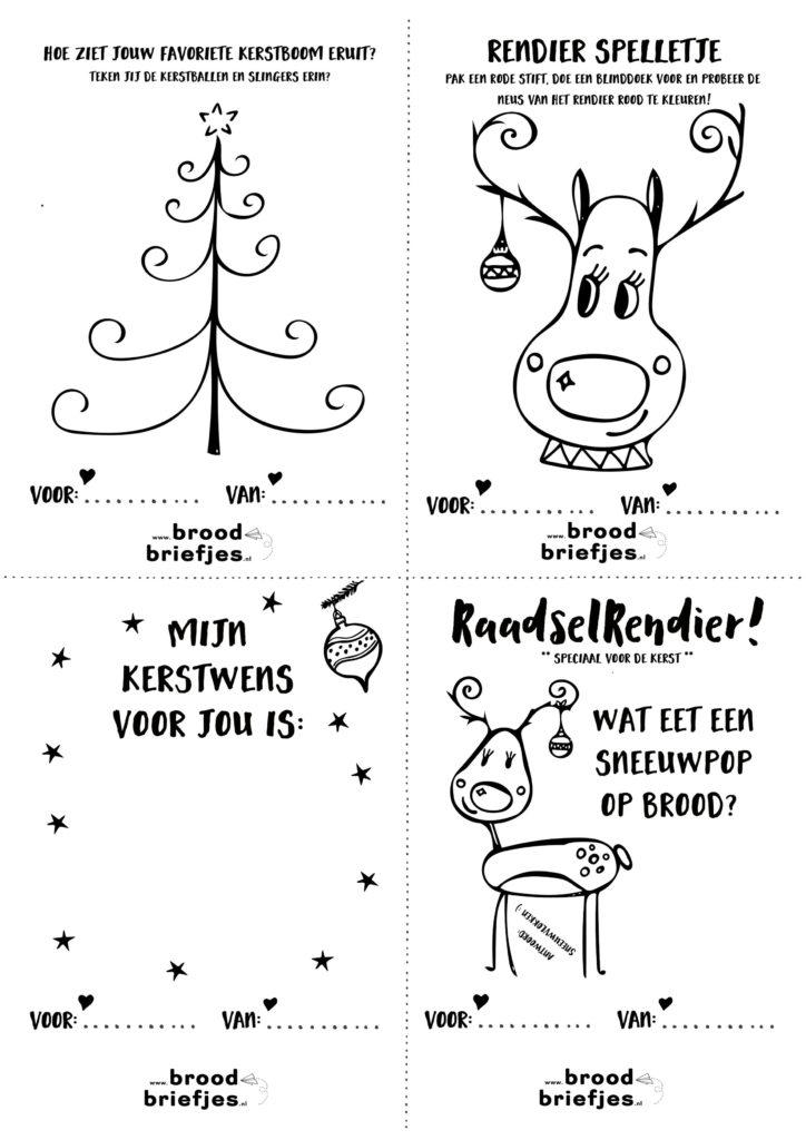 Magnifiek Kerst BroodBriefjes - deel 2 | BroodBriefjes.nl @SR73
